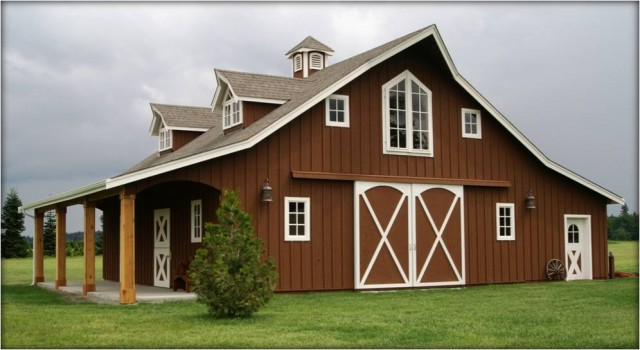 Western classic style the barn factorythe barn factory for Barn kits with apartments
